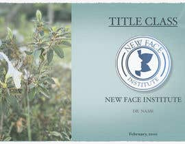 #23 para Power Point Template - New Face Institute de claudialmorap