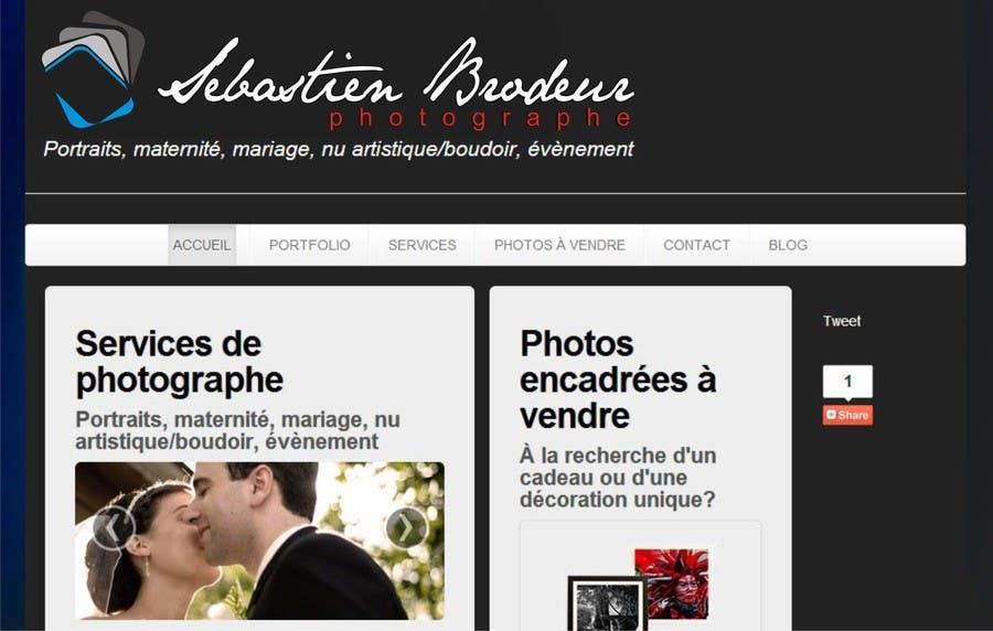Proposition n°22 du concours Logo Design for a photographer website