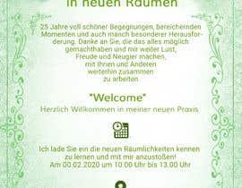 #22 für Design of an invitation von ronzwebfactory