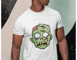 #31 para Design T.shirt for zombie character de ibrachawi