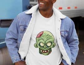 #35 para Design T.shirt for zombie character de ibrachawi