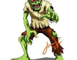 #43 para Design T.shirt for zombie character de jasongcorre
