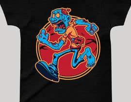 #124 para Design T.shirt for zombie character de jibon710