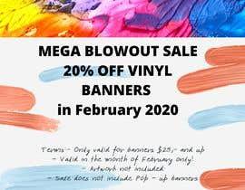 #9 para Mega Blowout Sale Sign - Vinyl Banners de AngiePavlov