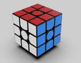 #4 para Custom Rubiks cube 3D models needed de kam3dyard