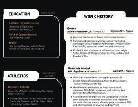 #39 para Design me a resume de shiblee10