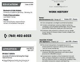 #30 para Design me a resume de shiblee10