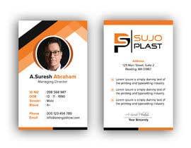 #94 untuk Design an minimalistic ID Card oleh iqbalsujan500