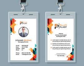 #161 untuk Design an minimalistic ID Card oleh mdakibmuhtadi