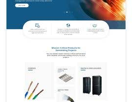 #62 for Web UI design for a manufacturing company by uiuxdesignerrr