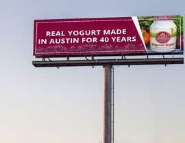 #25 for Text & Design to Add to Billboard picture content for Yogurt by Ripon4422
