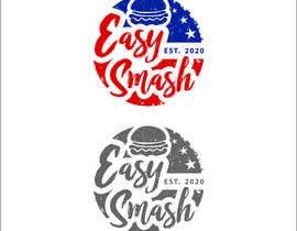 #60 untuk DIner Style logo for a hamburger press oleh maya77pa