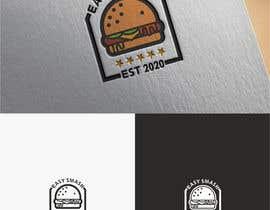 #44 untuk DIner Style logo for a hamburger press oleh zaki3200
