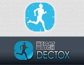 D2D194 tarafından Logo Design for Weight Watch Detox . com için no 78