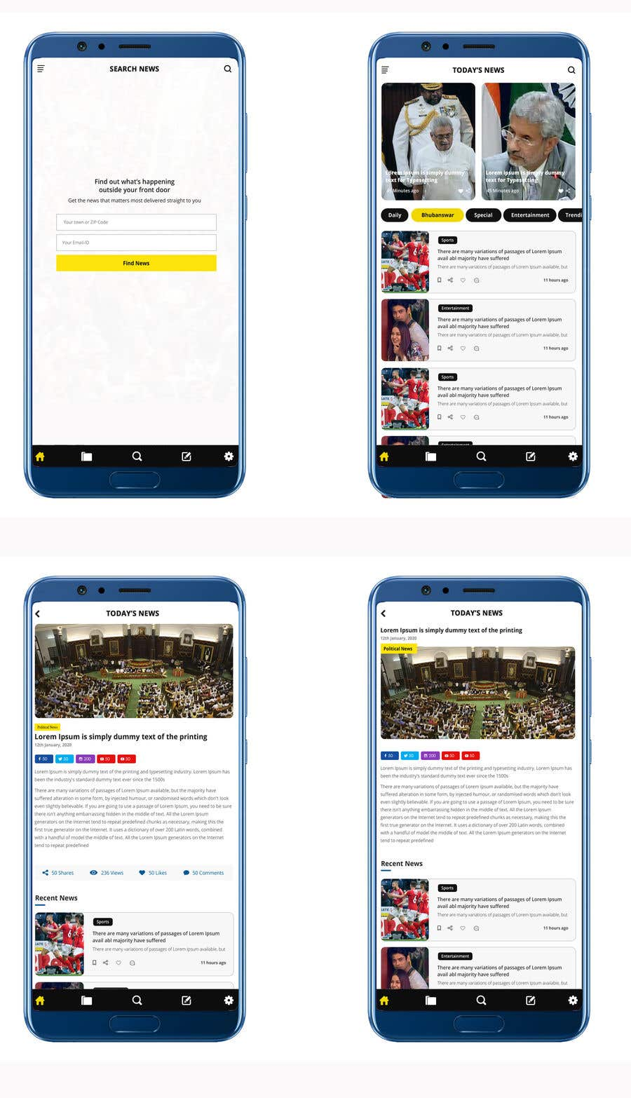 Contest Entry #                                        20                                      for                                         Re design of Web and mobile app