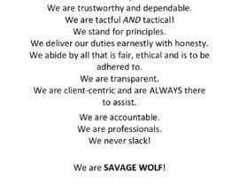 AkshayBaluni tarafından Write emotive company manifesto için no 40