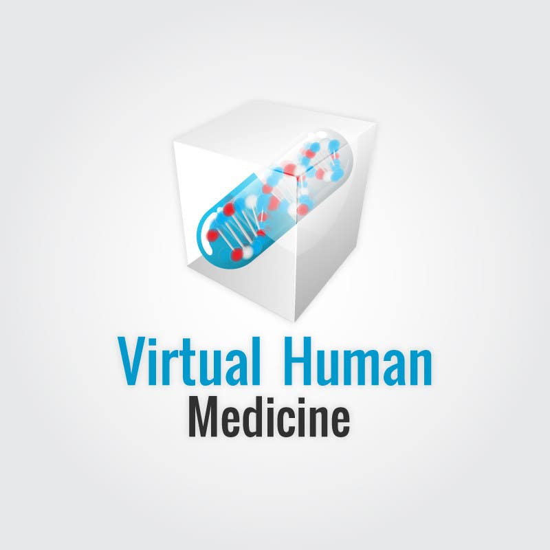 #13 for Logo Design for science concept - 3D Medicine by eak108