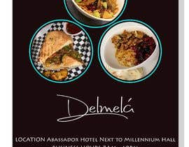 #16 untuk flyer for DELMELA CAFE oleh tawhidahmedshuhe