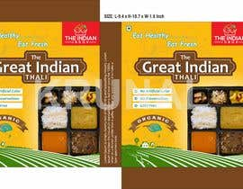 #71 for Food Packaging Box (Indian Thali Box) by krunalshingala9
