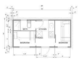 #43 for Design for a tiny mobile home af bilro