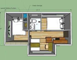 #4 for Design for a tiny mobile home af FelipeGoni