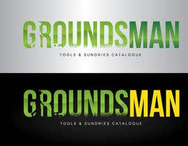 nº 39 pour Logo Design for Groundsman par GeorgeOrf