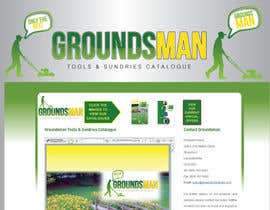 nº 79 pour Logo Design for Groundsman par GeorgeOrf