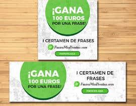 """#10 para Banner publicitario para certamen de frases """"FrasesMasBonitas.com"""" por jeevann007"""