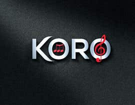 #62 for Logo for an 8 member choir named KORO by NehanBD