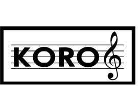 #57 para Logo for an 8 member choir named KORO de hazemyaseen23