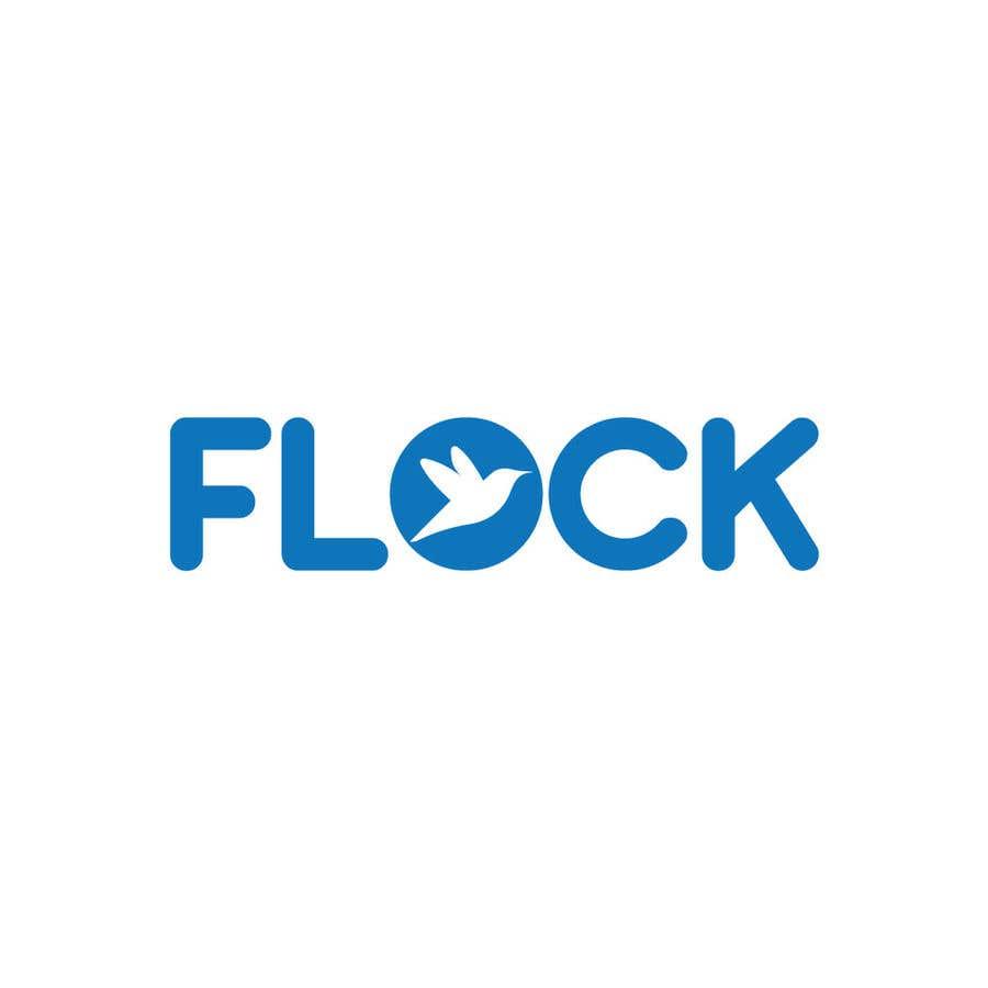 """Конкурсная заявка №                                        203                                      для                                         Logo for a travel app """"Flock"""""""