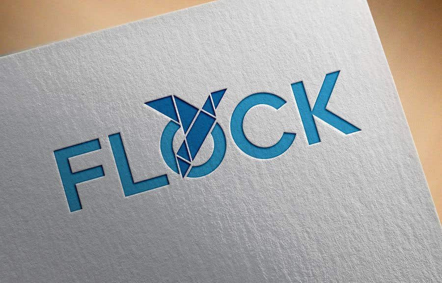 "Конкурсная заявка №                                        115                                      для                                         Logo for a travel app ""Flock"""