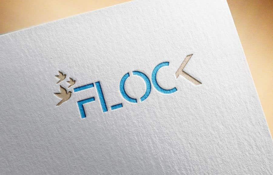 """Конкурсная заявка №                                        155                                      для                                         Logo for a travel app """"Flock"""""""