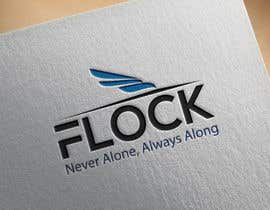 "#135 para Logo for a travel app ""Flock"" de Farzana0011"