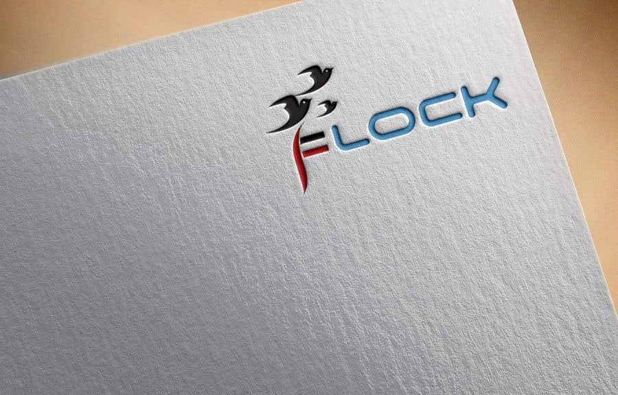 """Participación en el concurso Nro.                                        35                                      para                                         Logo for a travel app """"Flock"""""""