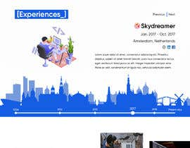 #30 for Build me the design of my personal 'Single Page Resume' website. by JegorBabak