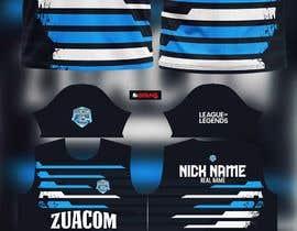 #11 for Desing the official Jersey of an eSports Team / Diseñar la camiseta oficial de un equipo de eSports by allejq99