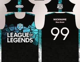 #9 for Desing the official Jersey of an eSports Team / Diseñar la camiseta oficial de un equipo de eSports by designworldx