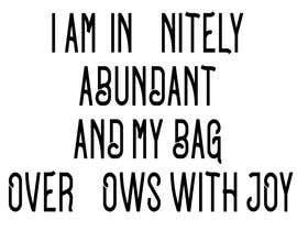#25 untuk I am affirmation oleh widooDesigner