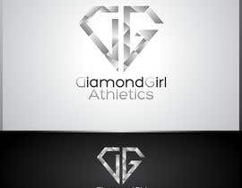 #35 para Logo Design for Diamond Girl Athletics por HammyHS
