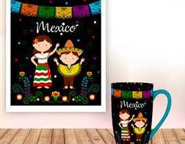 Nro 146 kilpailuun Mexican Fiesta Cartoon Illustration Vector käyttäjältä geandreina9