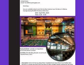 nº 18 pour Design an visually pleasing Event Invite par junaiadarif