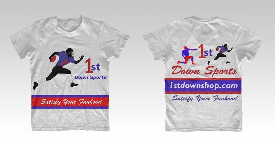 Penyertaan Peraduan #                                        60                                      untuk                                         Tshirt Design-Sports Related