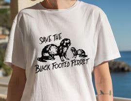 #21 для Graphic Design for Endangered Species - Black Footed Ferret от mdyounus19