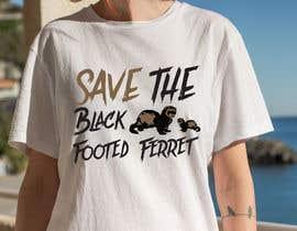 #23 для Graphic Design for Endangered Species - Black Footed Ferret от mdyounus19