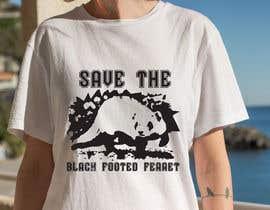 #28 для Graphic Design for Endangered Species - Black Footed Ferret от mdyounus19