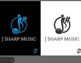 nº 107 pour Logo Design for J Sharp Music par Dewieq