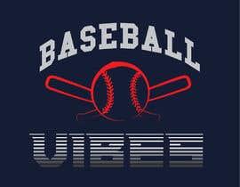 #70 для Baseball/Softball Vibes T-shirt Design от imagencreativajp