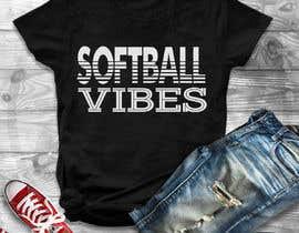 #33 для Baseball/Softball Vibes T-shirt Design от Gopal7777