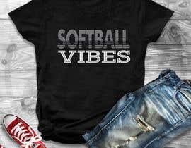 #34 для Baseball/Softball Vibes T-shirt Design от Gopal7777